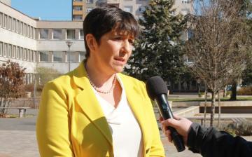 DSTV: Dobrev Klára Dunaújvárosban
