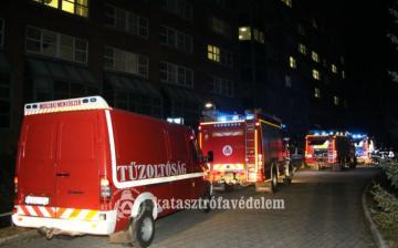 Kigyulladt egy kórterem a fehérvári kórházban