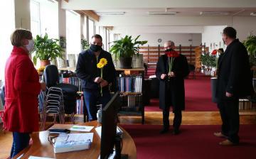 A könyvtárosokat ünnepelték