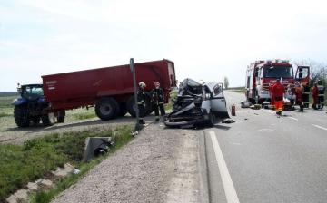 Durva képek a tegnapi balesetről