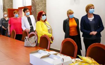 Az ápolókat köszöntötték a Városházán
