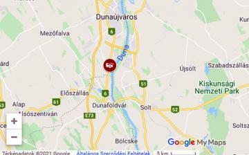 Súlyos baleset a 6-os úton Baracs térségében