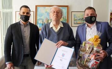 Egy hét alatt három 90 éves szépkorút köszöntöttek