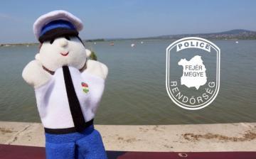 Nyár, vízpart, biztonság – rendőrségi tipptár a szünidőre