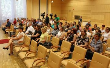 DSTV: bölcsődei ünnepség a Városházán
