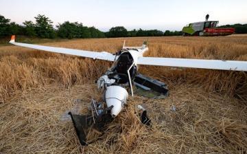A város mellől szállt fel, Apostagnál csapódott a földbe egy vitorlázórepülő