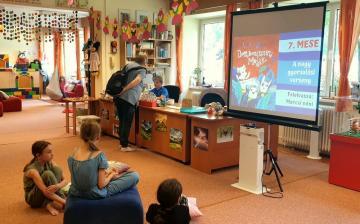 Gyermekkönyvtár: folyamatos üzemmód, gazdag programkínálat