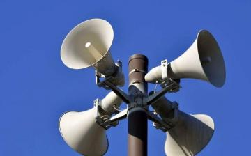 Szirénapróba: teljes üzemű, hangos teszt lesz hétfőn