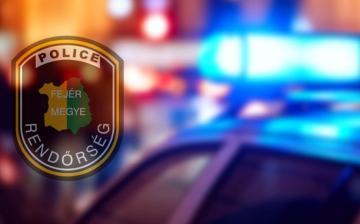 A vétlen sofőr sérült a 62-es úton