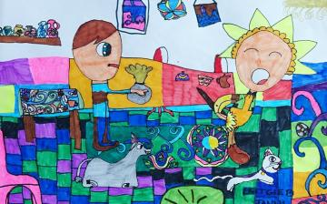 Illusztrációs kiállítás nyílik a népmese napján az Arany János iskolában