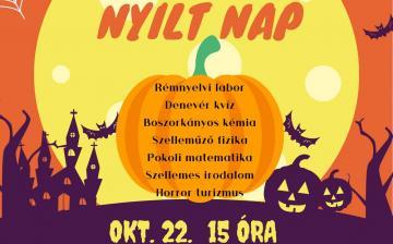 Nyílt nap és Halloween-party a Pannonban
