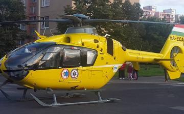 Rosszulléthez hívták a mentőhelikoptert - a héten harmadszor