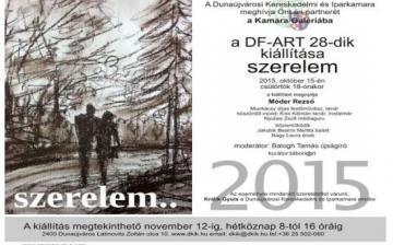 DF-ART kiállítás a Kamarában