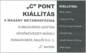 Kiállítás a C–pontban