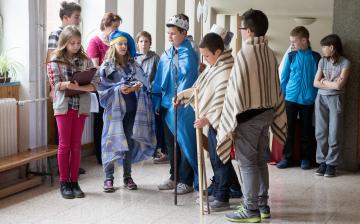 Erdélyi utazás - Készülődnek a Petőfi iskola hetedikesei