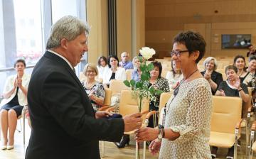 Évtizedes munkájukért díjazták a pedagógusokat