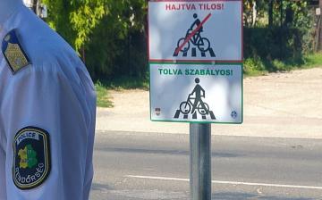 Hajtva tilos! Tolva szabályos!