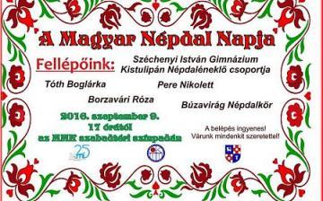 A Magyar Népdal Napja az MMK udvarán