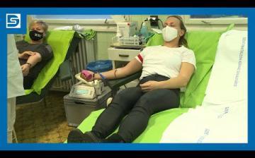 Embedded thumbnail for DSTV: véradókat ünnepelt a Vöröskereszt