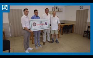 """Embedded thumbnail for DSTV: átadták a """"Dunaújváros kenyere"""" adományt"""