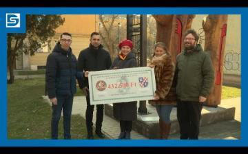 Embedded thumbnail for Dunaújváros kenyere – ezúttal a Városvédők Újtelepért Egyesületnek