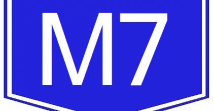 Utazók figyelmébe: útzár az M7-en