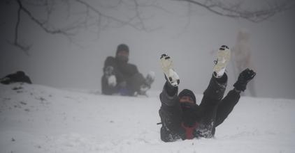 Cudar idő jön - Viharos szél, havazás