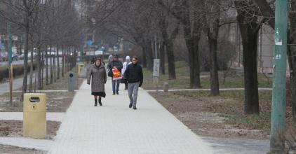 Folytatják a járdaépítési programot