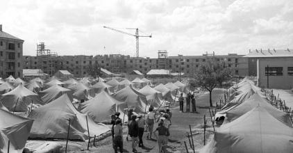 Dunaújváros mesél: a DISZ-táborok