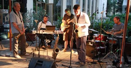 Remek koncertet adott a Balogh Gyula Quartet a Művész teraszán