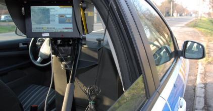 Ellenőrzés az autópályán