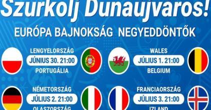 Szurkolj Dunaújváros a negyeddöntőkön is