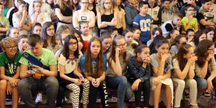 A Tehetség Napja a Dózsa iskolában - fotó: Sándor Judit