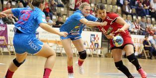 DKKA - Spono Eagles 43-14 (EHF Kupa) - fotó: Sándor Judit